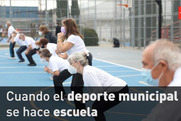 Cuando el deporte municipal hace escuela