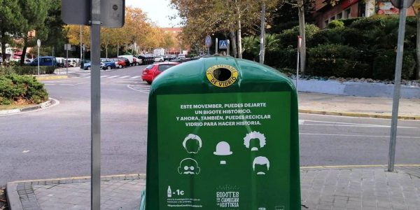 Reciclaje solidario de vidrio: un kilo de envases igual a un euro para la lucha contra el cáncer