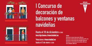 ¿Qué casa de Rivas ha decorado mejor su balcón esta Navidad?