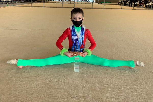 La gimnasia rítmica ripense, en campeonatos de España