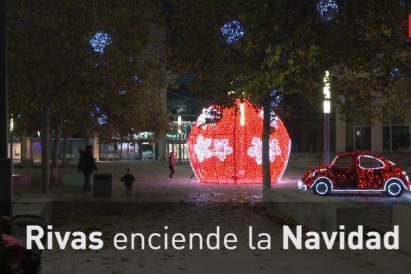 Rivas enciende la Navidad