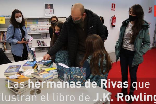 Las hermanas de Rivas que ilustran libros de J.K. Rowling