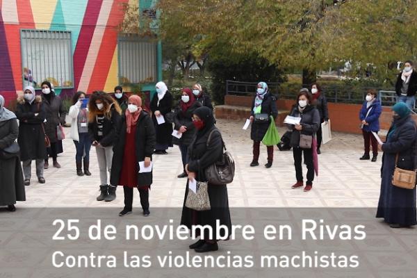 25 de noviembre en Rivas, contra las violencias machistas
