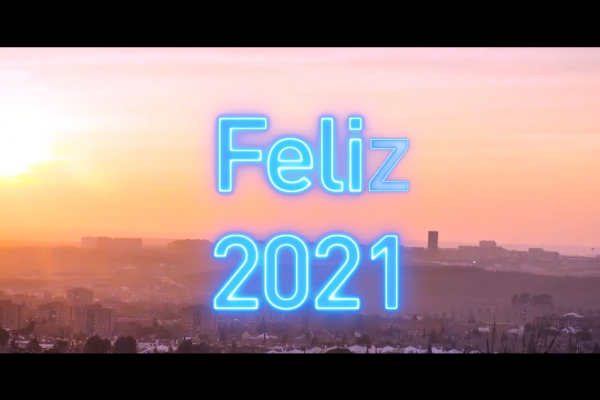 Feliz 2021, desde el Ayuntamiento de Rivas