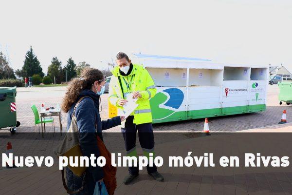 Nuevo punto limpio móvil en Rivas