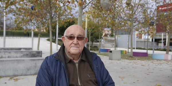 Lucio de la Nava, luchador antifranquista y vecino de Rivas