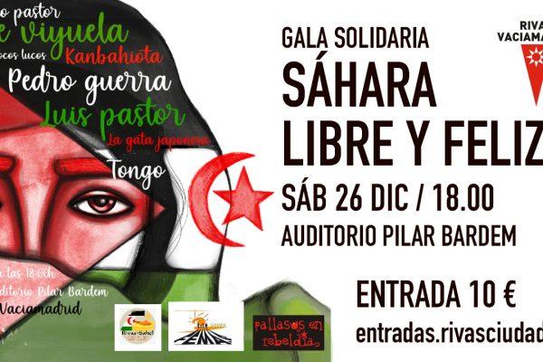 Gala Solidaria Sahara Libre y Feliz