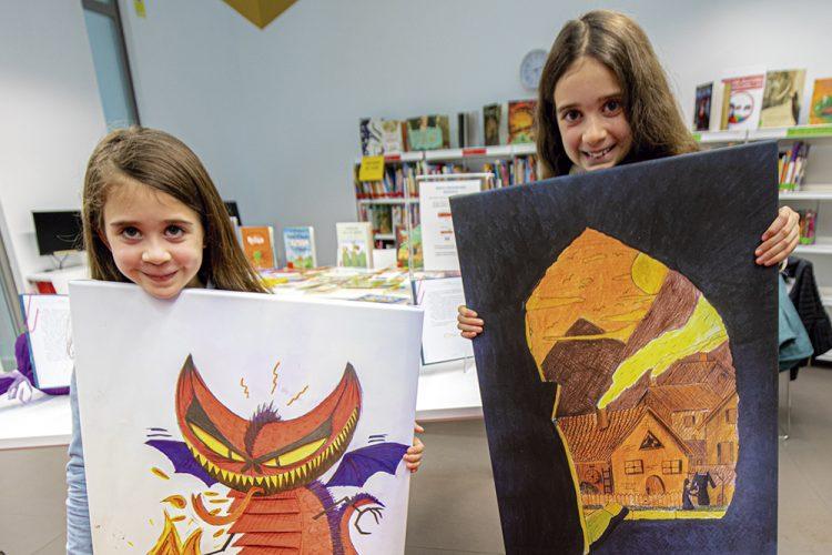 Dos hermanas de Rivas ilustran el libro de J.K. Rowling