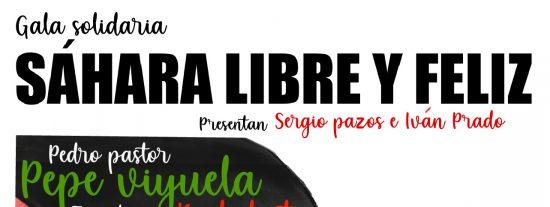 El Pilar Bardem acoge este sábado la Gala Solidaria Sáhara Libre y Feliz