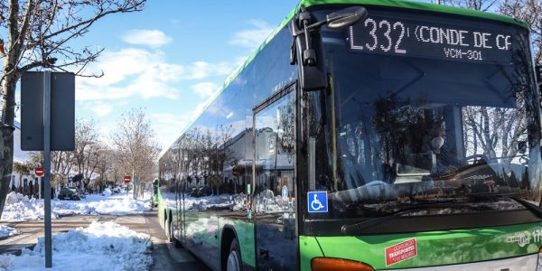 Se restablece el servicio habitual de transporte público en autobús