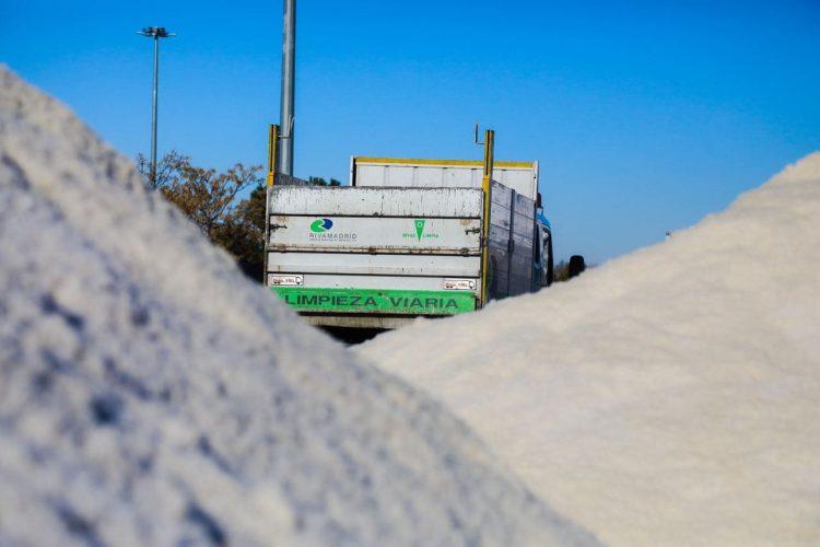 15 puntos de recogida de sal para la ciudadanía