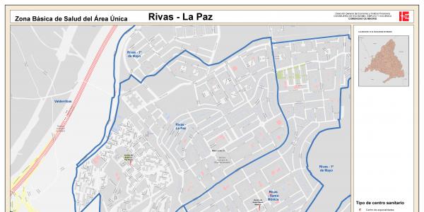 La Zona Básica de Salud Rivas - La Paz, con restricciones hasta el lunes 25