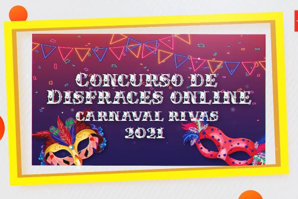 Concurso de disfraces online. Carnaval Rivas 2021