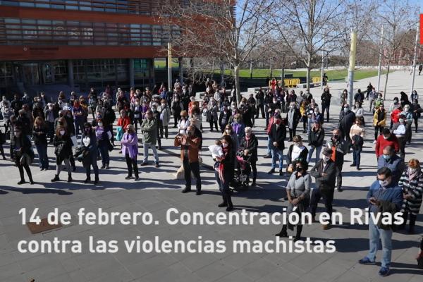 14 de febrero: concentración en Rivas contra las violencias machistas