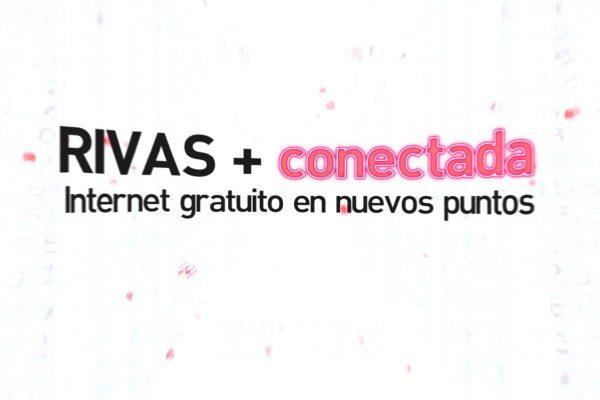 Rivas más conectada. Internet gratuito en nuevos puntos