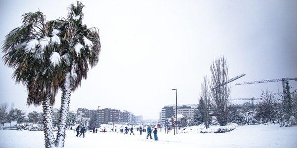 La nevada histórica que cubrió Rivas