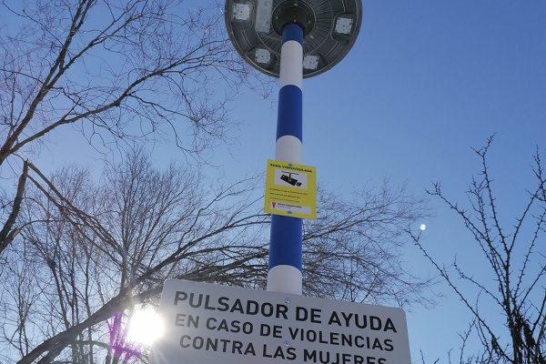 Postes SOSen la vía pública contra las violencias machistas
