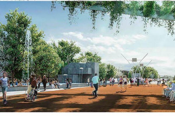 La redacción del proyecto parque lineal para cubrir el trazado del metro sale a licitación