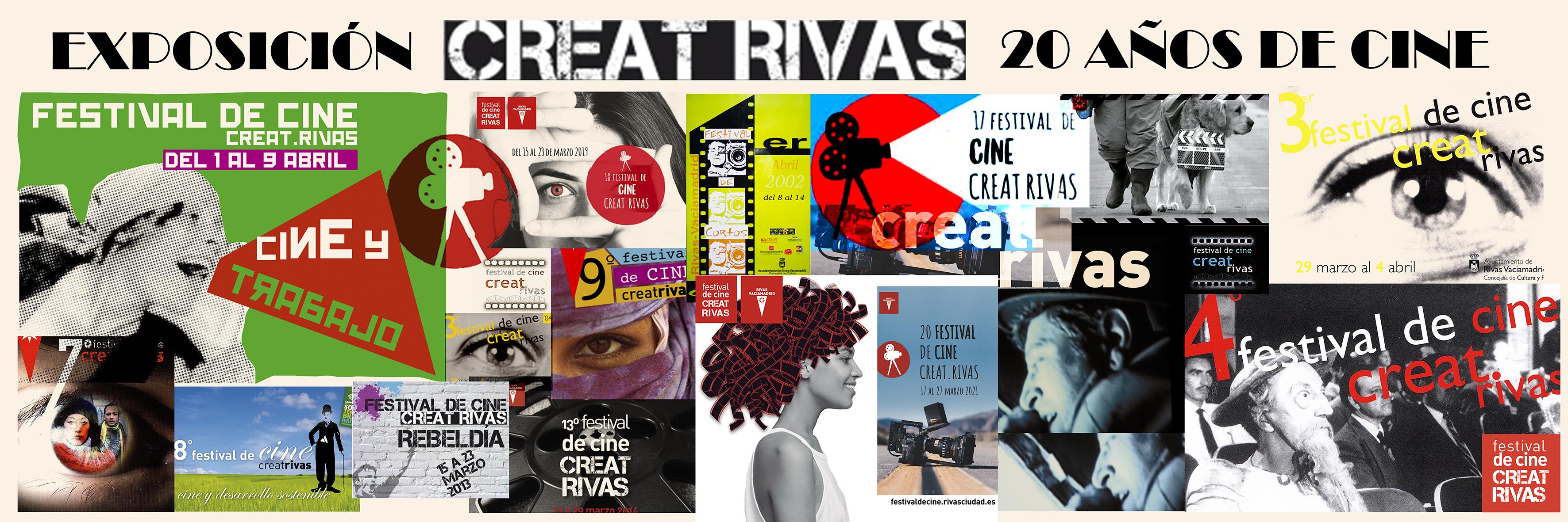 Exposición: CreatRivas: 20 años de cine, la retrospectiva