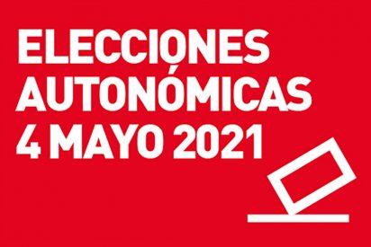 Elecciones autonómicas 4 de mayo 2021