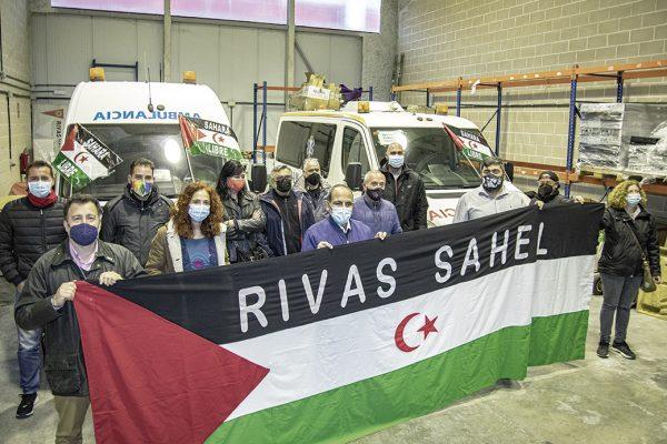 Dos ambulancias ripenses para el pueblo saharaui