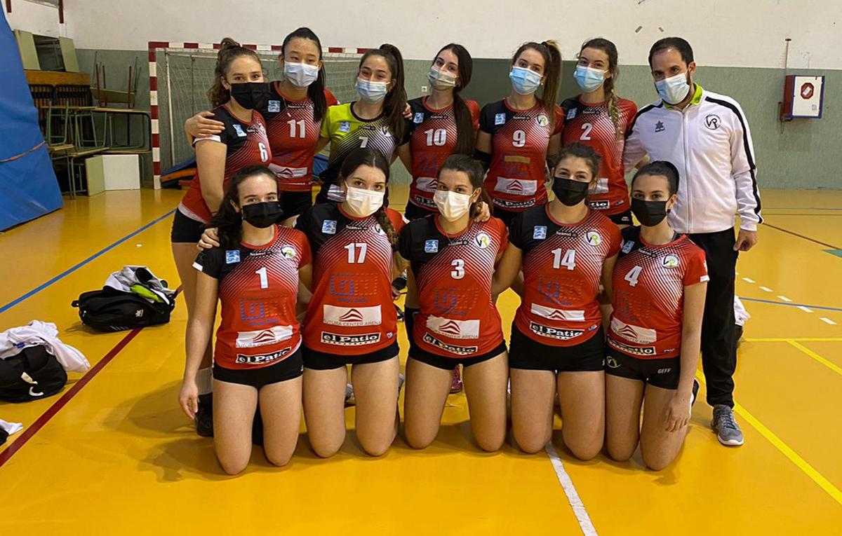 Rivas acoge la fase final autonómica cadete de voleibol