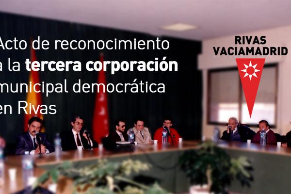 Acto de reconocimiento a la tercera corporación democrática en Rivas