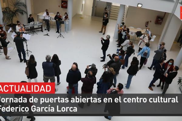 Jornada de puertas abiertas en centro cultural García Lorca