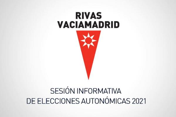 Sesión informativa de elecciones autonómicas 2021