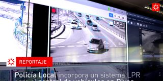 Policía Local incorpora un sistema LPR para el control de vehículos en Rivas