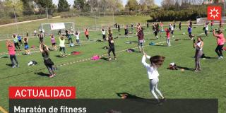 Maratón de fitness por Marzo Mujeres
