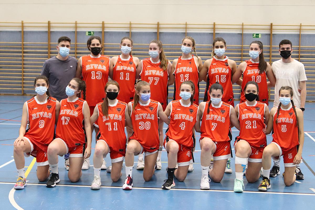 Rivas acoge la 'Final Four' Autonómica de baloncesto cadete femenino