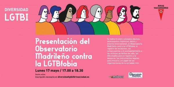Presentación del Observatorio Madrileño contra la LGTBfobia