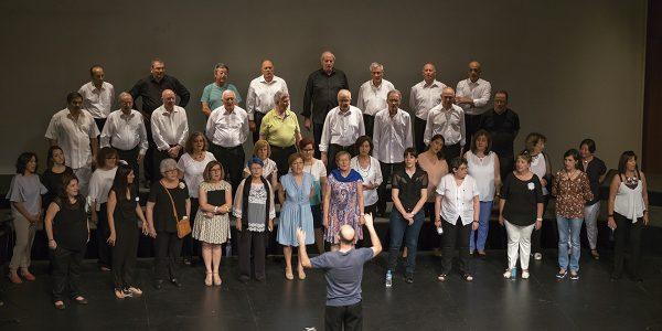 El Coro de Rivas y la bailaora Begoña Castro