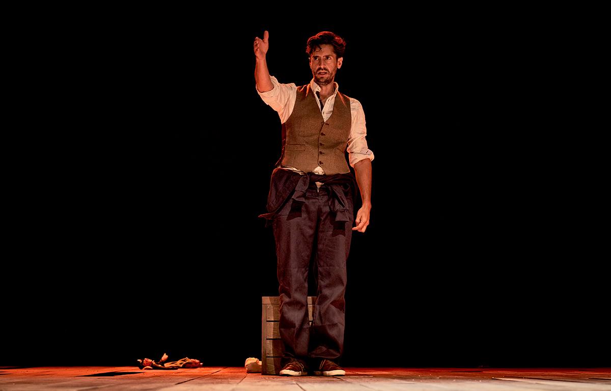 """Juan Diego Botto: """"No se puede reproducir en pantalla la sensación que da el teatro"""""""