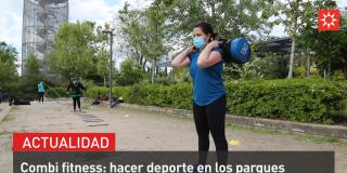 Combifitness: hacer deporte en los parques