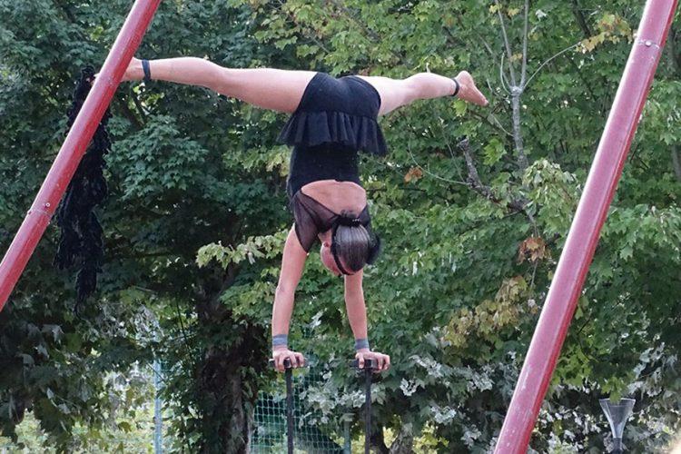 'La coquette': el circo acrobático de Kanbahiota