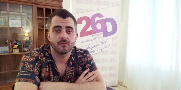 """Pedro Bogo: """"Las personas mayores LGTBtenemos el doble de posibilidades de vivir solas"""""""