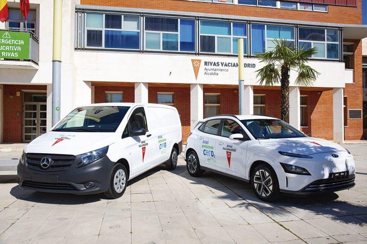 Rivas adquiere ocho nuevos vehículos eléctricos de uso municipal