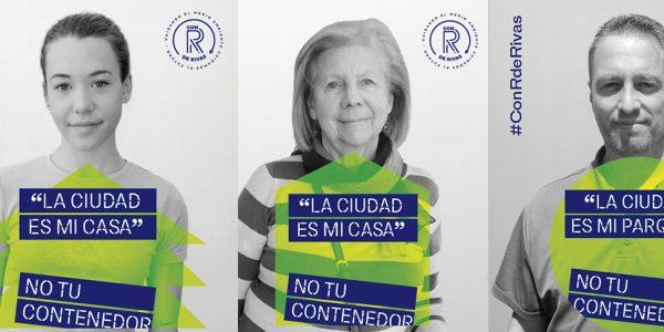 'Tu ciudad no es tu contenedor', campaña de sensibilización