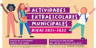Actividades extraescolares 2021-2022: solicitudes del 21 al 27 de junio