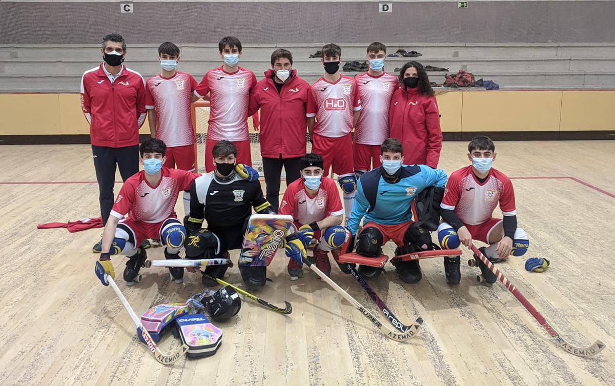 Un campeonato de Madrid y dos platas para el hockey de Rivas