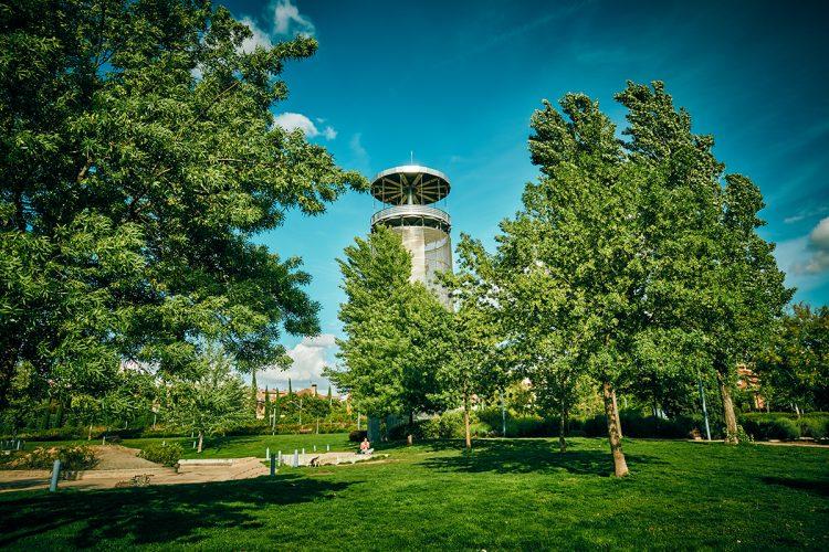 Paseo botánico y literario por el parque Lineal