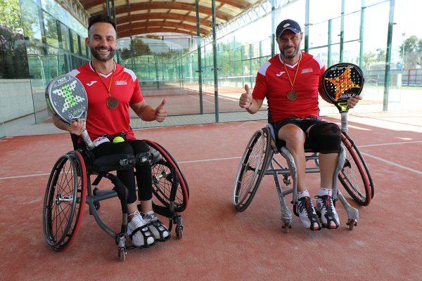 Álvaro Garmilla y Rubén Castilla: en las cumbres del pádel español
