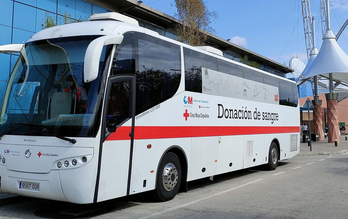 Se necesita sangre: unidad móvil de Cruz Roja en Rivas del 14 al 16 de julio