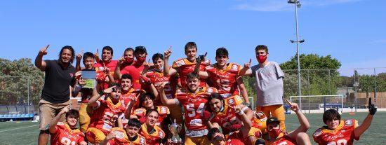 Los 'oseznos' de Rivas: campeones de España y Madrid
