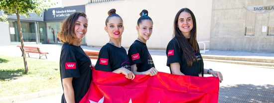 Diploma histórico en un campeonato nacional para la gimnasia rítmica de Rivas