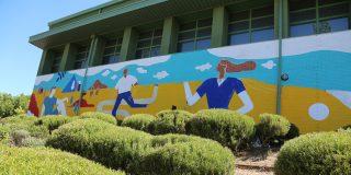 La belleza del arte urbano regala cinco nuevos lienzos a Rivas