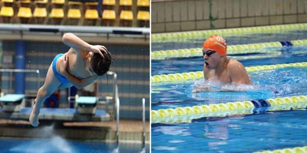 David y Sergio, dos hermanos que se bañan en oro