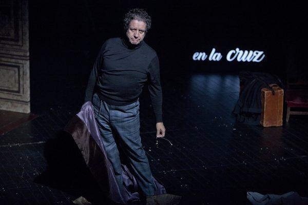 El actor Pedro Casablanc, protagonista de la obra 'Torquemada'.